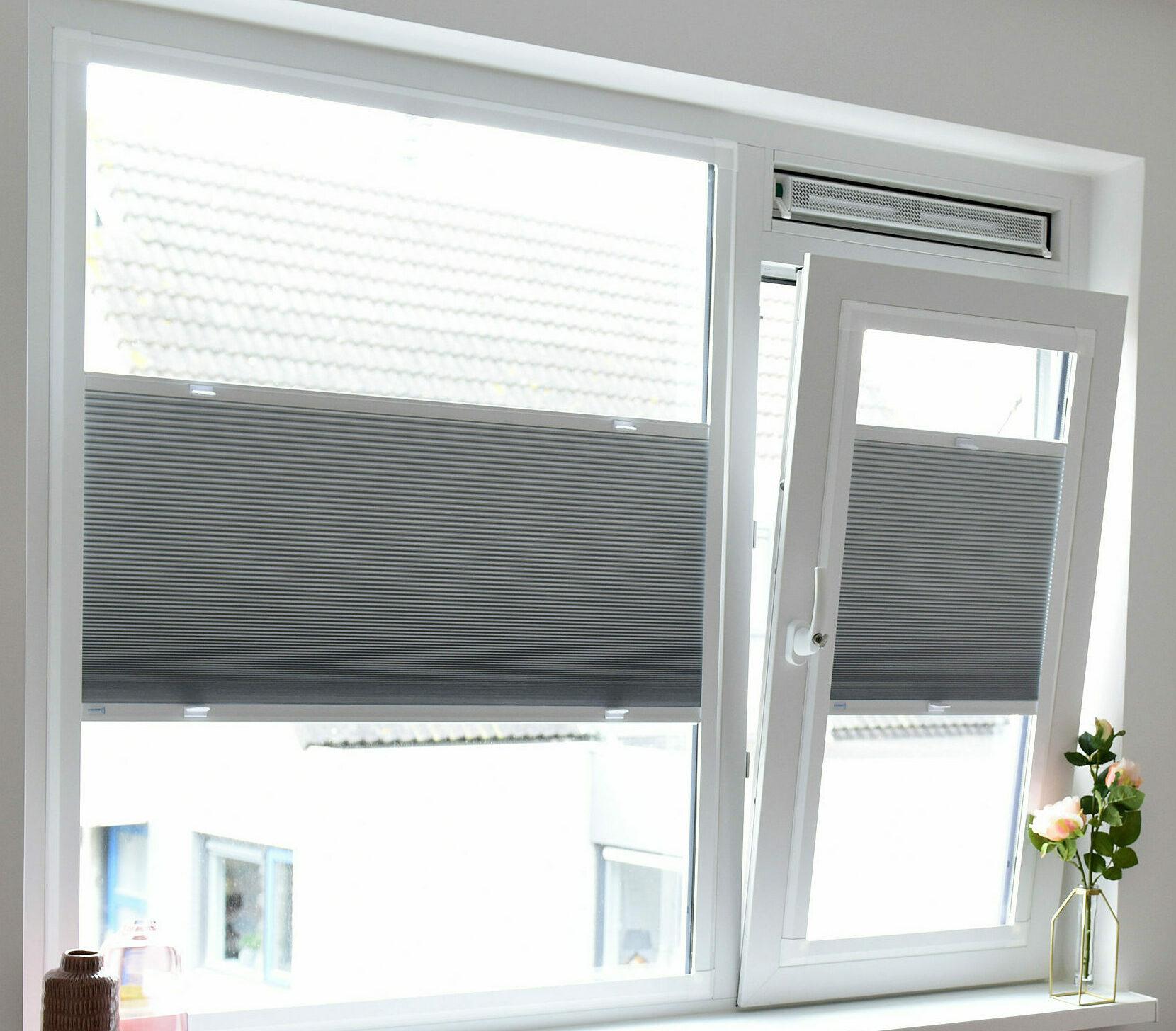 raamdecoratie kunststof kozijnen
